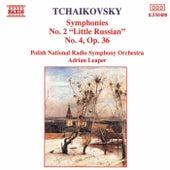 Tchaikovsky: Symphonies Nos. 2 and 4 by Polish National Radio Symphony Orchestra