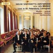 Live in St. Petersburg de Nieuw Sinfonietta Amsterdam