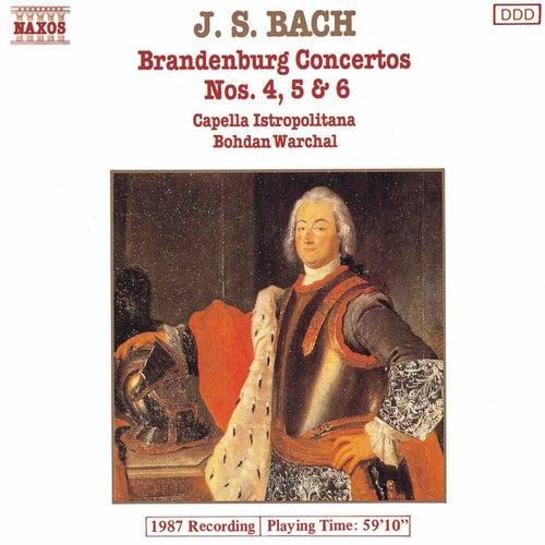 Brandenburg Concertos Nos. 4, 5 and 6 by Johann Sebastian Bach
