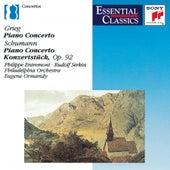 Robert Schumann and Edvard Grieg: Piano Concertos by Various Artists