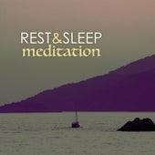 Rest & Sleep Meditation - Deep Sleeping Sounds, Falling Rain & Ocean Waves Ambience by Various Artists
