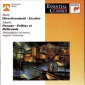 Ibert: Divertissement; Escales; Fauré: Pavane; Pelleas et Melisande; Roussel: Bacchus et Ariane by Various Artists