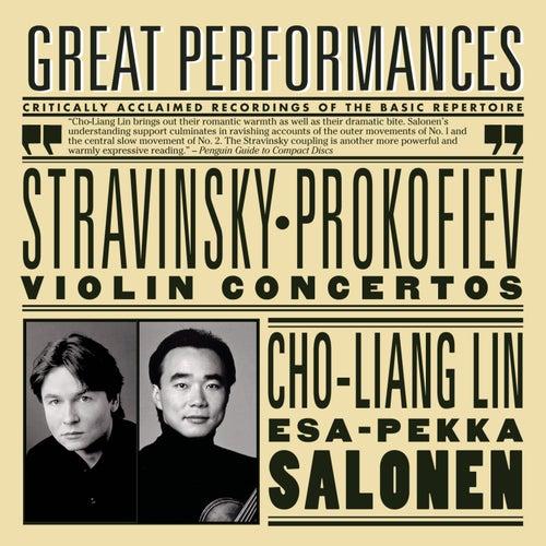 Prokofiev and Stravinsky Violin Concertos by Los Angeles Philharmonic Orchestra