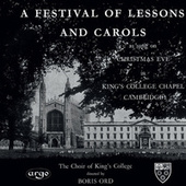 A Festival of Lessons and Carols by Various Artists