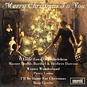 Merry Christmas to You by Various Artists