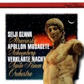 Schoenberg: Verklärte Nacht - Stravinsky: Apollon musagète by Seiji Ozawa
