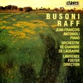 Busoni / Raff: Concertos von Jean-François Antonioli