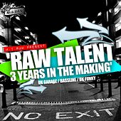 Raw Talent: 3 Years In The Makin' (2007-2010) - EP van Various Artists