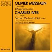 Messiaen: L'ascension  & Ives: Second Orchestral Set de London Symphony Orchestra