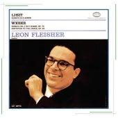 Liszt: Sonata in B Minor; Weber: Sonata No. 4 in E Minor, Op. 70 & Invitation to the Dance, Op. 65 by Leon Fleisher