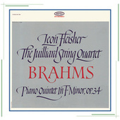 Brahms: Quintet for Piano and Strings in F Minor, Op. 34 by Leon Fleisher