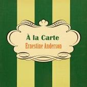 À La Carte by Ernestine Anderson