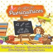 Le coffret des puéricultrices (Comptines, berceuses, mimes & jeux de doigts, boîte à musique, imagier sonore) by Various Artists