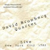 Live In New York City 1982 by David Bromberg