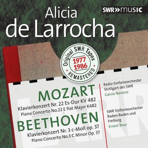Mozart & Beethoven: Piano Concertos by Alicia De Larrocha