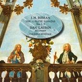 Roman: Flute Sonatas 1-5 de Dan Laurin