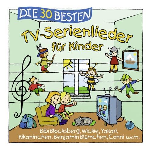 Die 30 besten TV-Serienlieder für Kinder von Simone Sommerland, Karsten Glück & die Kita-Frösche