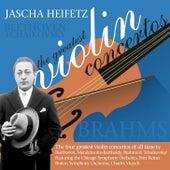 Jascha Heifetz: The Greatest Violin Concertos von Various Artists