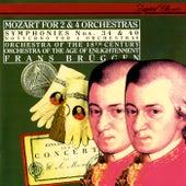Mozart: Symphonies Nos. 34 & 40; Notturno for 4 Orchestras von Frans Brüggen