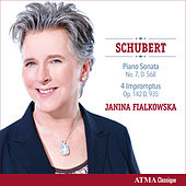 Schubert: Piano Sonata No. 7 in E-Flat Major & 4 Impromptus von Janina Fialkowska