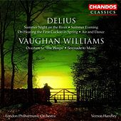 VAUGHAN WILLIAMS: Wasps (The): Overture / Serenade to Music / DELIUS: 2 Pieces for Small Orchestra de Vernon Handley