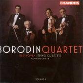 BEETHOVEN: String Quartets, Vol. 6 by Borodin String Quartet