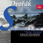 Dvořák: Symphonies Nos 7-9 / Czech PO, Neumann by Czech Philharmonic Orchestra