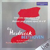 Beethoven: Concerto No. 5, Sonate No. 5 de Eric Heidsieck