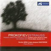 Strauss: Sonate pour violin et piano - Prokofiev: Premiere Sonate pour violon et piano by Jean-Jacques Kantorow