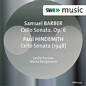 Barber & Hindemith: Cello Sonatas by Leslie Parnas