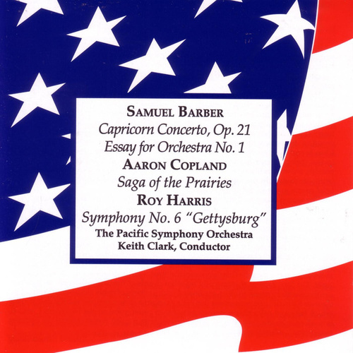 Barber • Copland • Harris by Pacific Symphony Orchestra