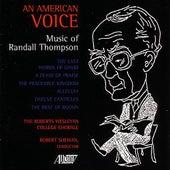 An American Voice de Roberts Wesleyan Chorale