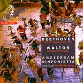 Beethoven: String Quartet in F Major & Walton: Sonata for Strings by Amsterdam Sinfonietta