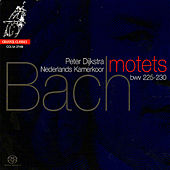 Bach: Six Motets by Nederlands Kamerkoor