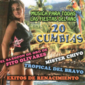 20 Cumbias - Musica Para Todas Las Fiestas Del Ano by Various Artists