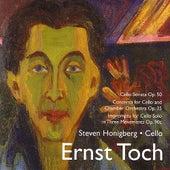 Toch: Music for Cello von Steven Honigberg