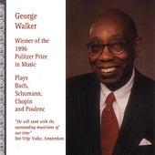 George Walker Plays Bach, Schumann by George Walker