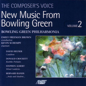 New Music from Bowling Green, Vol. II by Bowling Green Philharmonia