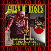 Nakano Sunplaza, Tokyo, Japan, December 7th 1988 (Doxy Collection, Remastered, Live on Fm Broadcasting) by Guns N' Roses