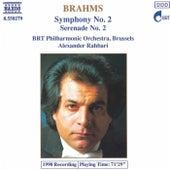 Symphony No. 2 / Serenade No. 2 de Johannes Brahms