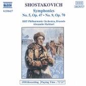 Symphonies Nos. 5 and 9 de Dmitri Shostakovich
