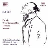 Parade / Trois Gymnopedies / Relache de Erik Satie