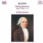 String Quartets Op. 1, Nos 1-4 (unpublished) by Franz Joseph Haydn