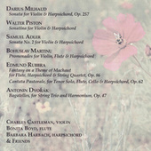 Milhaud/Piston/Adler/Martinu/Rubbra/Dvorak de Various Artists