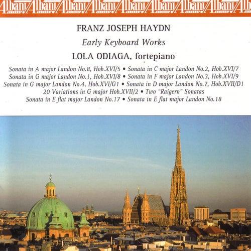 Haydn: Early Keyboard Works by Lola Odiaga