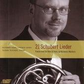 21 Schubert Lieder by Richard King
