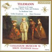 TELEMANN: Concerto in D major / La Bouffonne / Grillen-Symphonie / Alster Overture by Various Artists