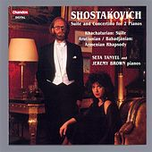 SHOSTAKOVICH / KHACHATURIAN / BABADJANIAN: Works for 2 pianos by J. Brown