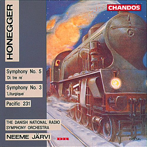 HONEGGER: Symphonies Nos. 3 and 5 / Pacific 231 by Neeme Jarvi