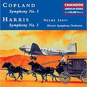 AMERICAN SERIES, Vol. 10 - HARRIS: Symphony No. 3 / COPLAND: Symphony No. 3 by Neeme Jarvi